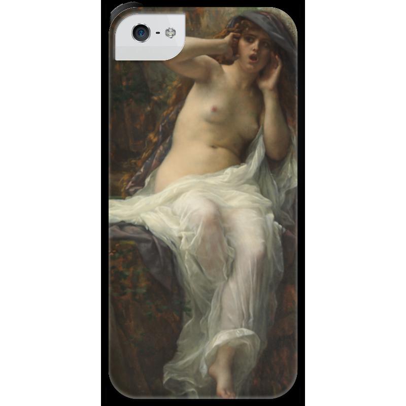 Чехол для iPhone 5 с подставкой, с полной запечаткой Printio Эхо (картина кабанеля) чехол для iphone 5 с подставкой с полной запечаткой printio паж картина кабанеля