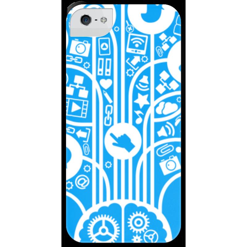 Чехол для iPhone 5 с подставкой, с полной запечаткой Printio Интернет чехол для iphone 5 с подставкой с полной запечаткой printio интернет