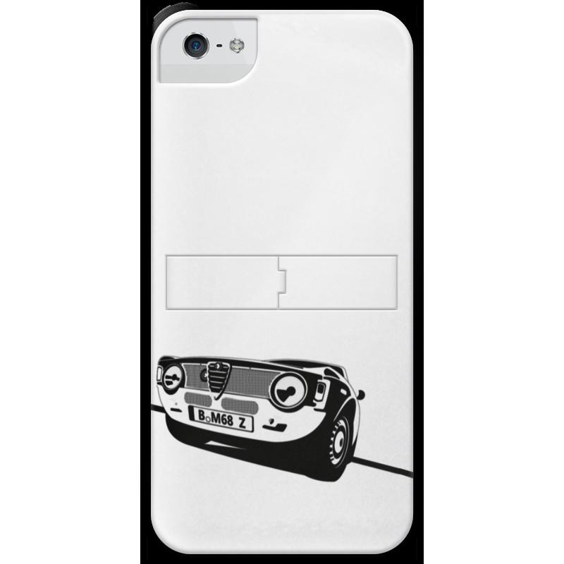Чехол для iPhone 5 с подставкой, с полной запечаткой Printio Retro alfa romeo racing наклейки tony 2 74 alfa romeo mito 147 156 159 166 giulietta gt