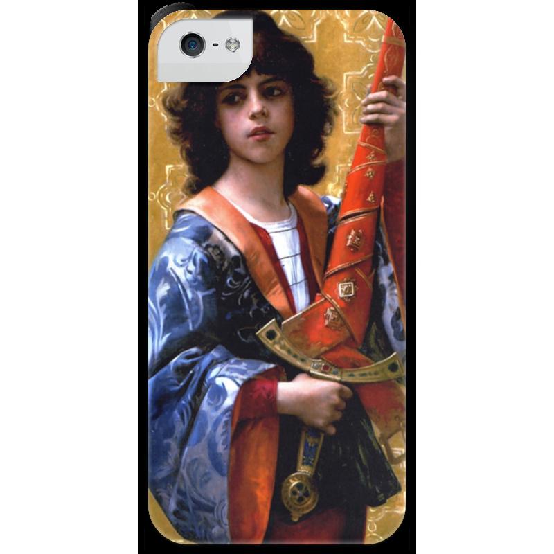 Чехол для iPhone 5 с подставкой, с полной запечаткой Printio Паж (картина кабанеля) чехол для iphone 5 с подставкой с полной запечаткой printio паж картина кабанеля