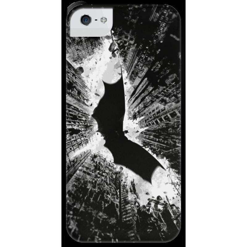 Чехол для iPhone 5 с подставкой, с полной запечаткой Printio Темный рыцарь рыцарь