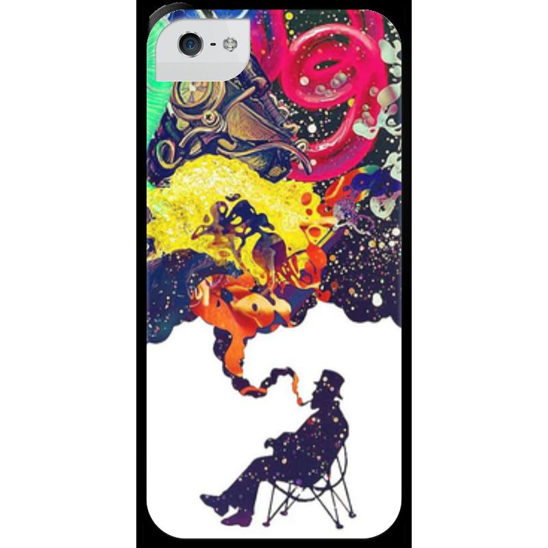 Чехол для iPhone 5 с подставкой, с полной запечаткой Printio Креатив чехол для iphone 5 с подставкой с полной запечаткой printio котосмонавт