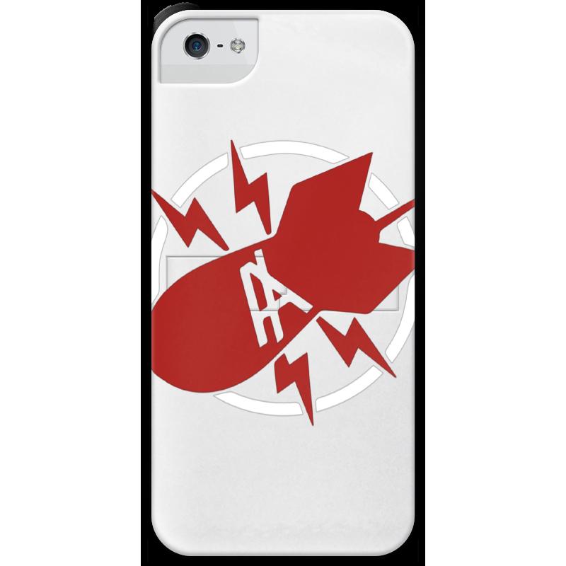 Чехол для iPhone 5 с подставкой, с полной запечаткой Printio Антихайп чехол для iphone 5 с подставкой с полной запечаткой printio интернет