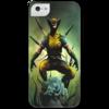"""Чехол для iPhone 5 с подставкой, с полной запечаткой """"X-MEN"""" - comics, росомаха, супергерой, marvel, superhero, x-men, wolverine"""