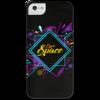 """Чехол для iPhone 5 с подставкой, с полной запечаткой """"Love Space"""" - звезды, космос, вселенная"""