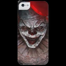 """Чехол для iPhone 5 с подставкой, с полной запечаткой """"Оно  """" - it, stephen king, оно, стивен кинг"""