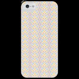 """Чехол для iPhone 5 с подставкой, с полной запечаткой """"ngjjvbn480"""" - арт, узор, абстракция, фигуры, текстура"""