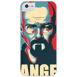 "Чехол для iPhone 5 с подставкой, с полной запечаткой ""Breaking Bad"" - во все тяжкие, breaking bad, heisenberg"