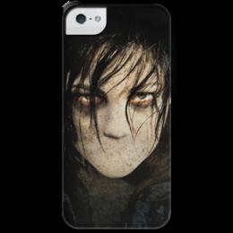 """Чехол для iPhone 5 с подставкой, с полной запечаткой """"Сайлент Хилл"""" - игра, silent hill, ужасы, кино, страх"""