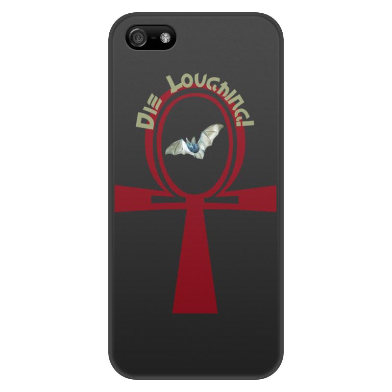 лучшая цена Чехол для iPhone 5/5S, объёмная печать Printio Кельтский крест анх