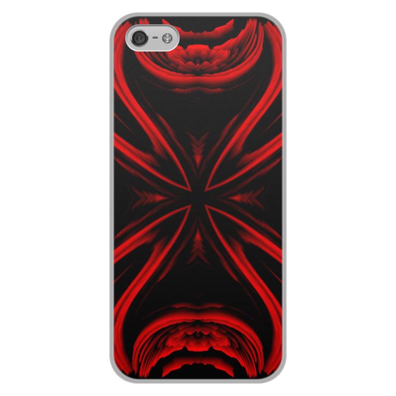 Чехол для iPhone 5/5S, объёмная печать Printio Красная ртуть