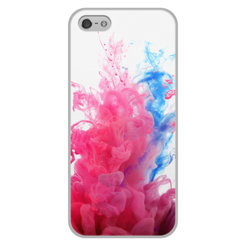 Чехол для iPhone 5/5S, объёмная печать Printio Дым дым цена и фото