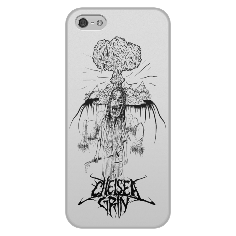 Чехол для iPhone 5/5S, объёмная печать Printio Chelsea grin чехол для iphone 5 printio с именем алла
