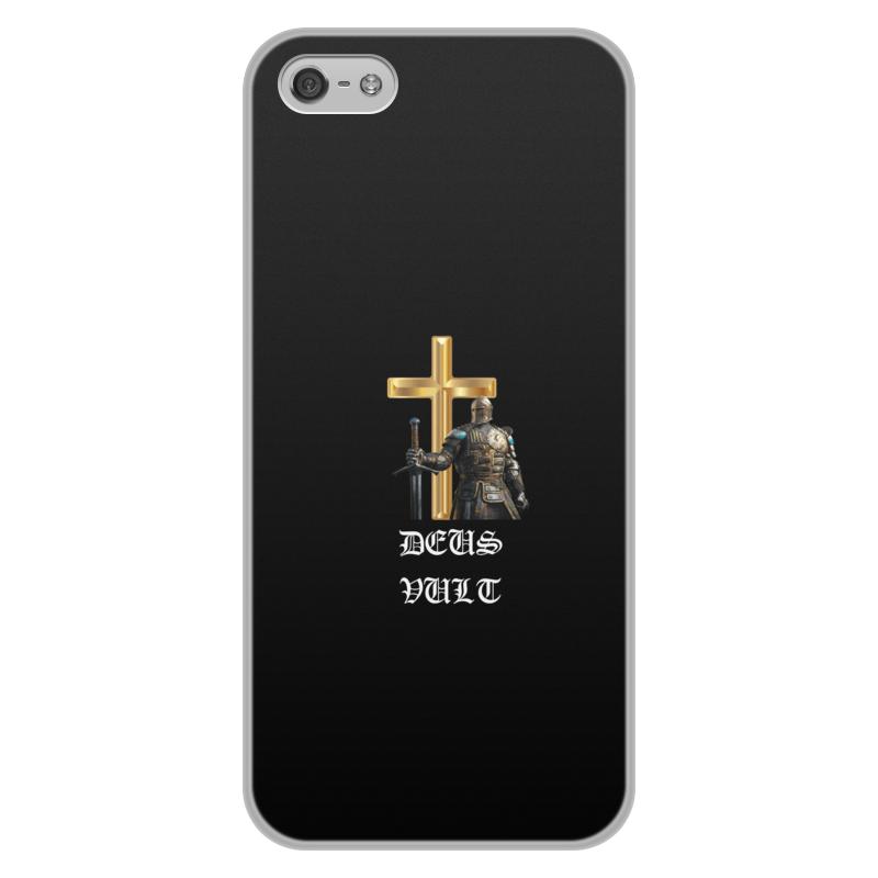 Чехол для iPhone 5/5S, объёмная печать Printio Deus vult. крестоносцы чехол для iphone 5 printio с именем лариса