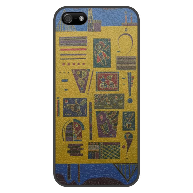 Чехол для iPhone 5/5S, объёмная печать Printio Конгломерат (василий кандинский) кандинский блокнот