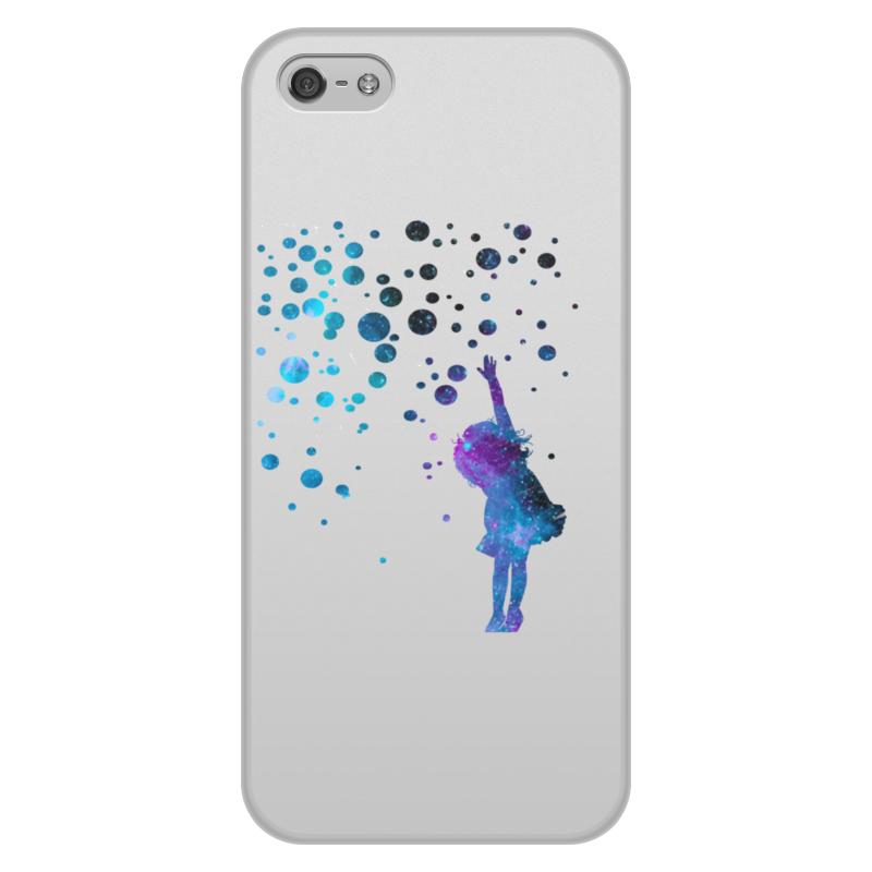 Чехол для iPhone 5/5S, объёмная печать Printio Дотянуться до звезд чехол для iphone 5 5s объёмная печать printio орео
