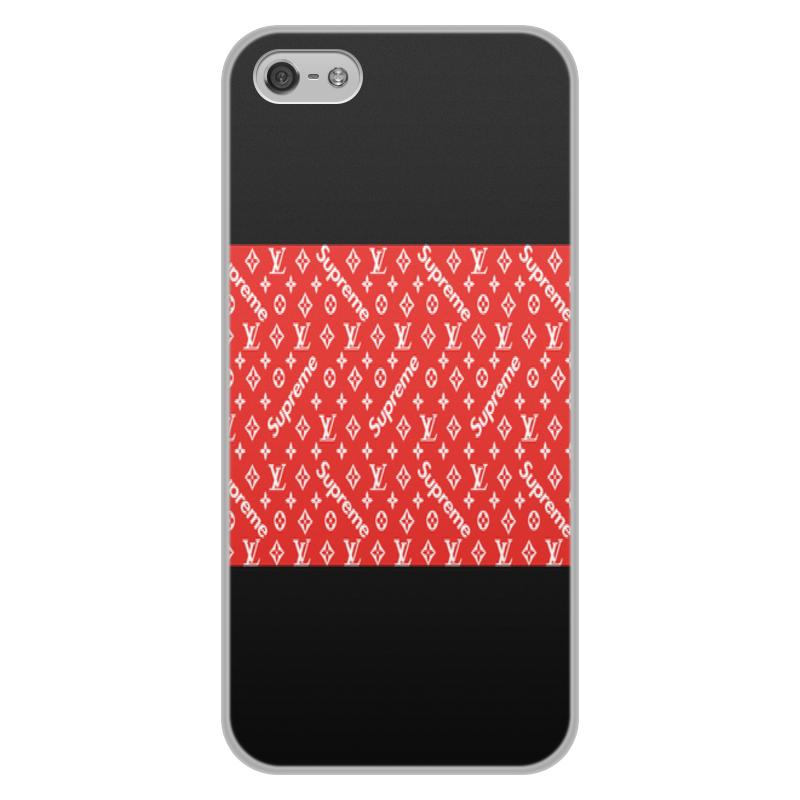 Printio Supreme чехол для iphone 5 5s объёмная печать printio 5s autumn mood