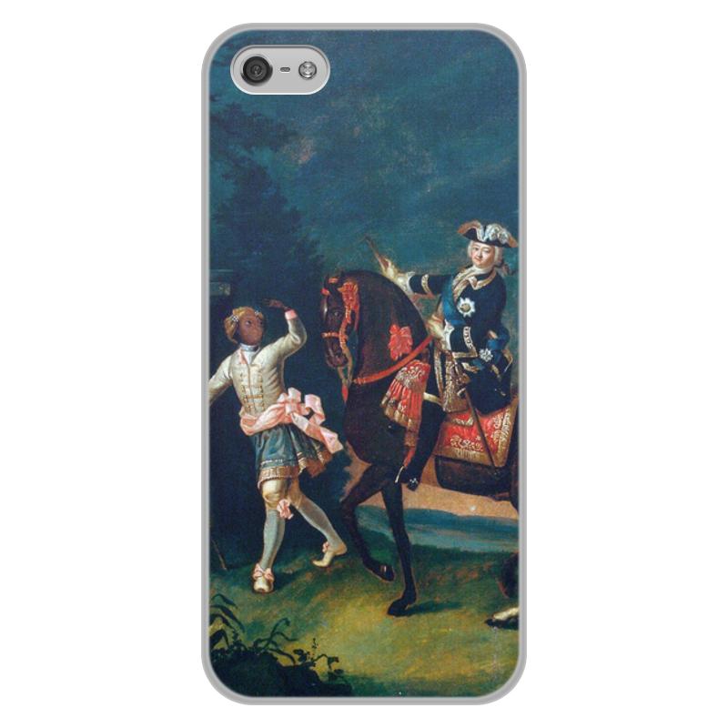 лучшая цена Printio Конный портрет елизаветы петровны с арапчонком