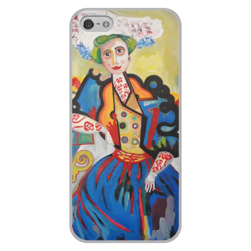 лучшая цена Чехол для iPhone 5/5S, объёмная печать Printio Женщина (амадеу ди соза-кардозу)