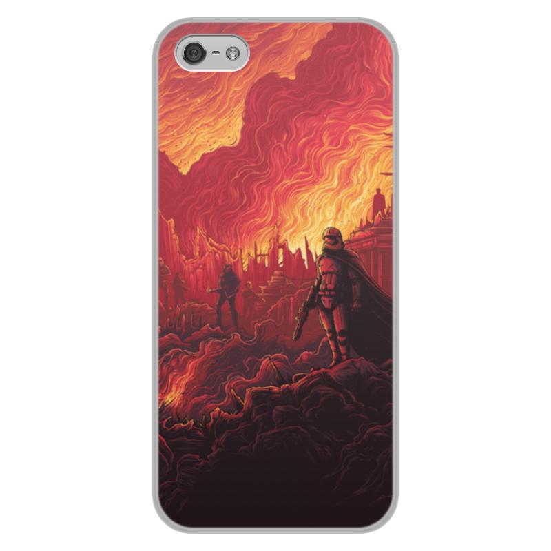 Чехол для iPhone 5/5S, объёмная печать Printio Звездные войны ультра тонкий 0 7 мм тонкий алюминиевый металл рамки бампера чехол для iphone 5 5s