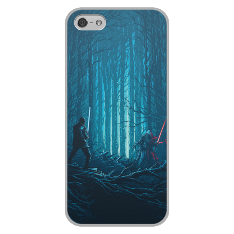 Чехол для iPhone 5/5S, объёмная печать Printio Звездные войны
