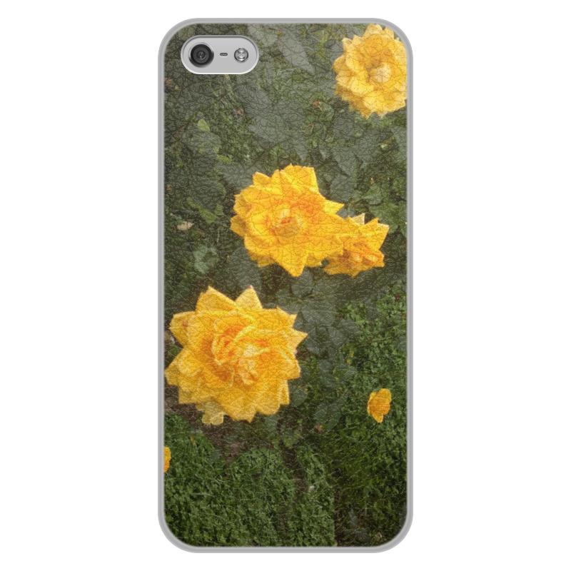 Printio Осенние розы чехол для iphone 5 5s объёмная печать printio туз пик