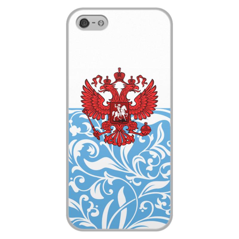 Фото - Printio Россия чехол для iphone 5 5s объёмная печать printio гарри поттер