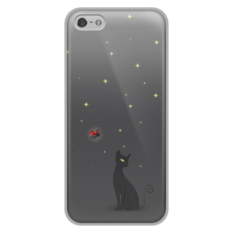 Чехол для iPhone 5/5S, объёмная печать Printio Ночная история чехол для iphone 5 printio с именем катя