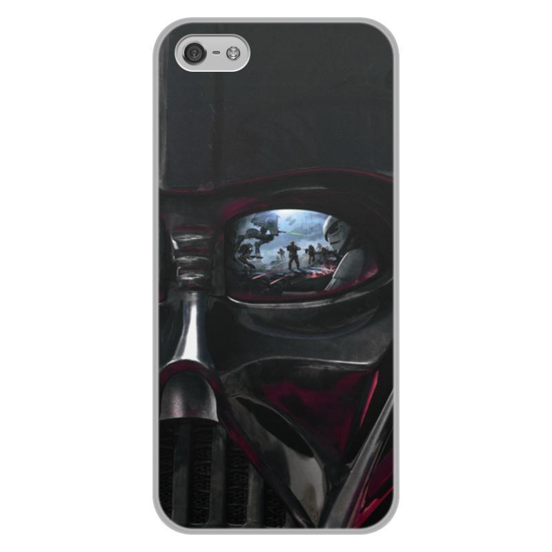 Чехол для iPhone 5/5S, объёмная печать Printio Звездные войны цена и фото