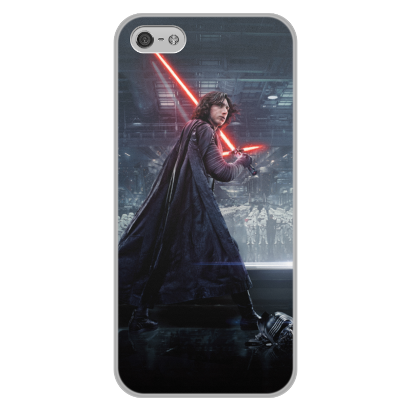 Чехол для iPhone 5/5S, объёмная печать Printio Звездные войны - кайло рен чехол для iphone 5 5s объёмная печать printio звездные войны