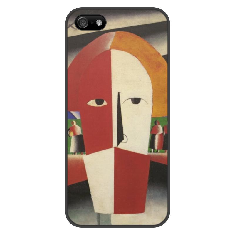 Чехол для iPhone 5/5S, объёмная печать Printio Голова крестьянина (казимир малевич) голова для робота паука keye toys space warrior 5