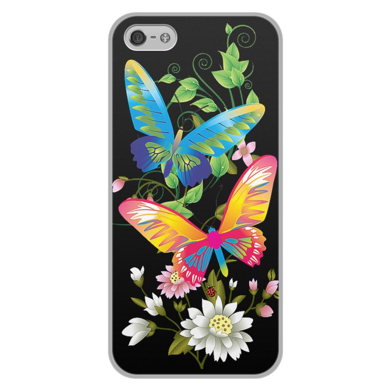 Чехол для iPhone 5/5S, объёмная печать Printio Бабочки фэнтези чехол для iphone 5 printio с именем лариса