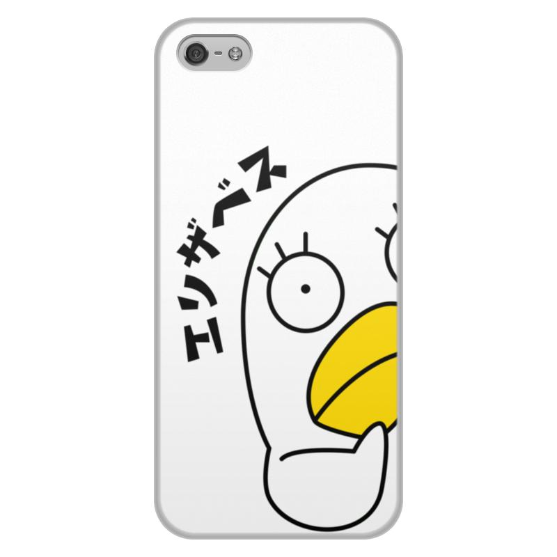 лучшая цена Чехол для iPhone 5/5S, объёмная печать Printio Гинтама. элизабет