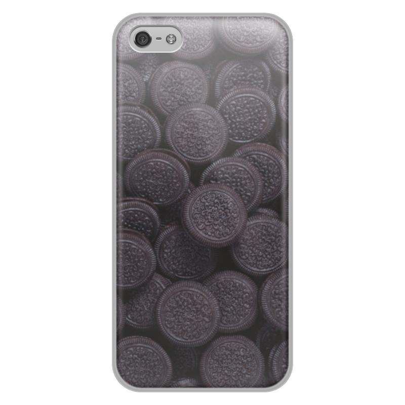 Чехол для iPhone 5/5S, объёмная печать Printio Орео цена и фото