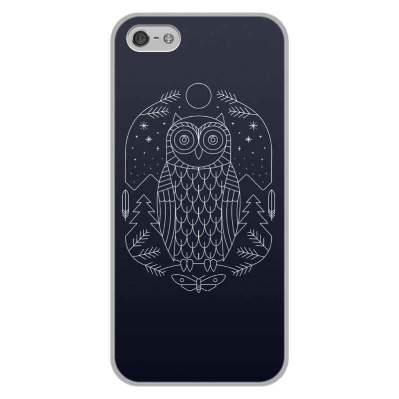 Чехол для iPhone 5/5S, объёмная печать Printio Ночной страж