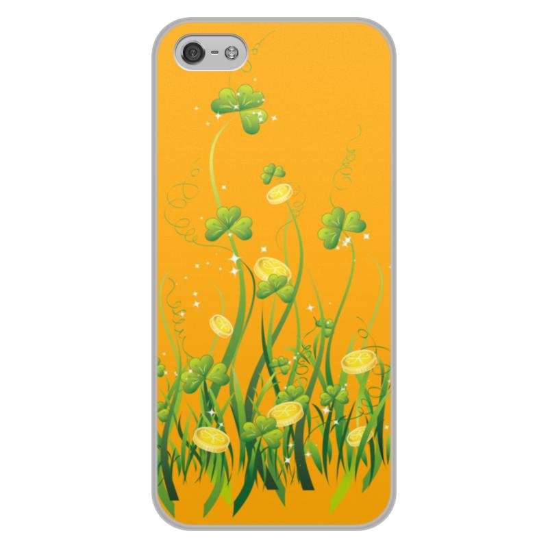 Чехол для iPhone 5/5S, объёмная печать Printio Без названия чехол для iphone 5 5s объёмная печать printio скорпион 24 10 21 11