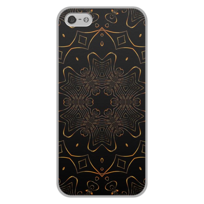Чехол для iPhone 5/5S, объёмная печать Printio Золотая вязь чехол для iphone 5 printio с именем галина