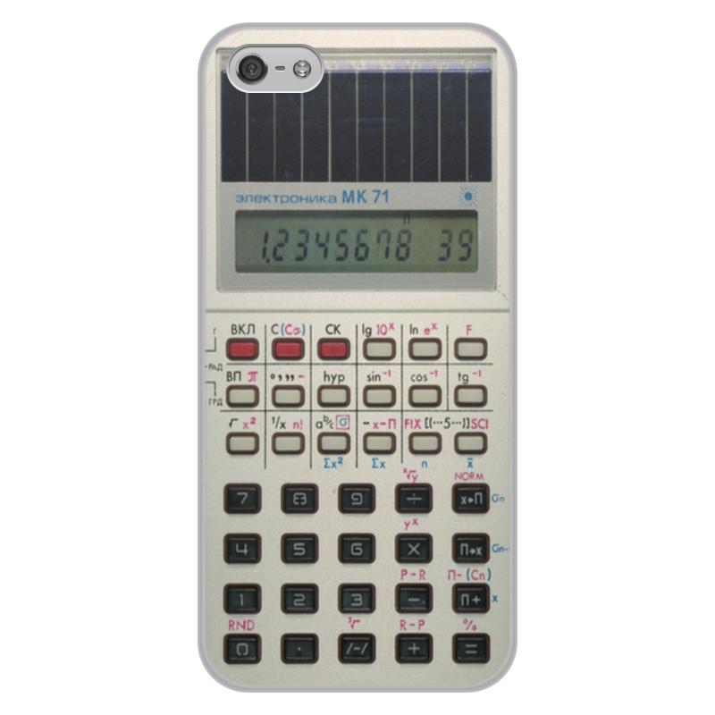 Чехол для iPhone 5/5S, объёмная печать Printio Электроника