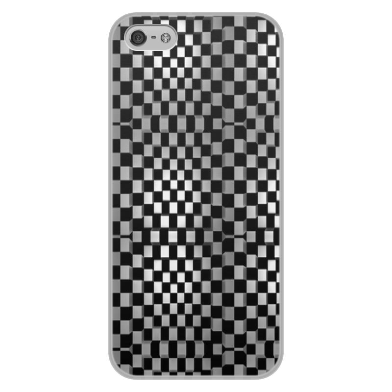 Фото - Printio Квадраты чехол для iphone 5 глянцевый с полной запечаткой printio deadpool vs punisher