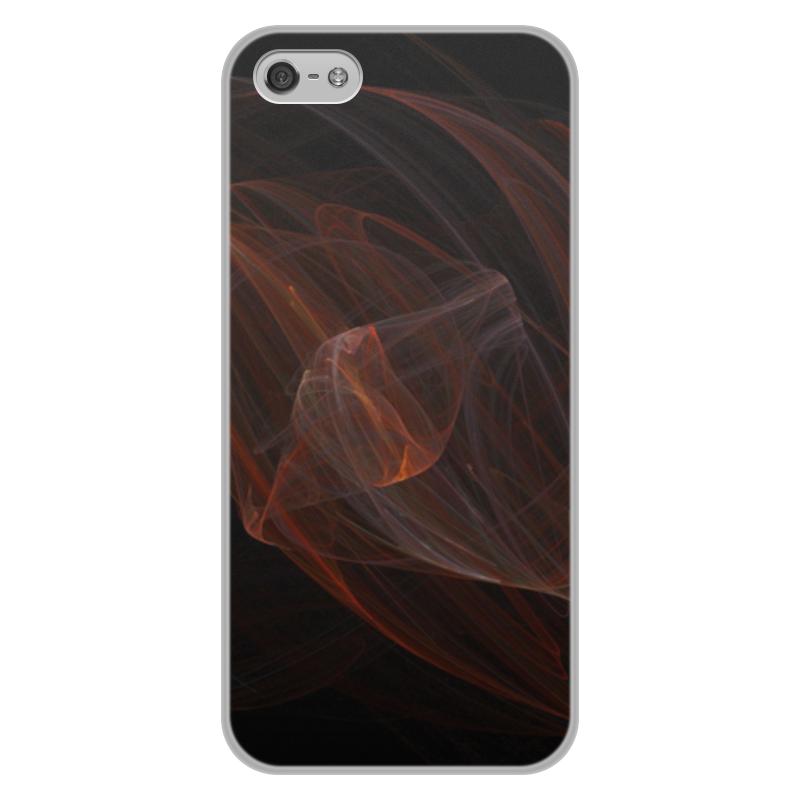 Фото - Чехол для iPhone 5/5S, объёмная печать Printio Абстрактный дизайн улыбающиеся лица дизайн кожа pu откидная крышка карточки бумажника держатель чехол для ipod touch 5 6