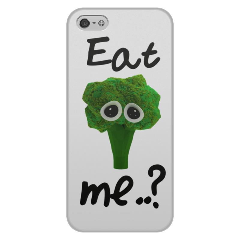 Чехол для iPhone 5/5S, объёмная печать Printio Eat me..? цена и фото