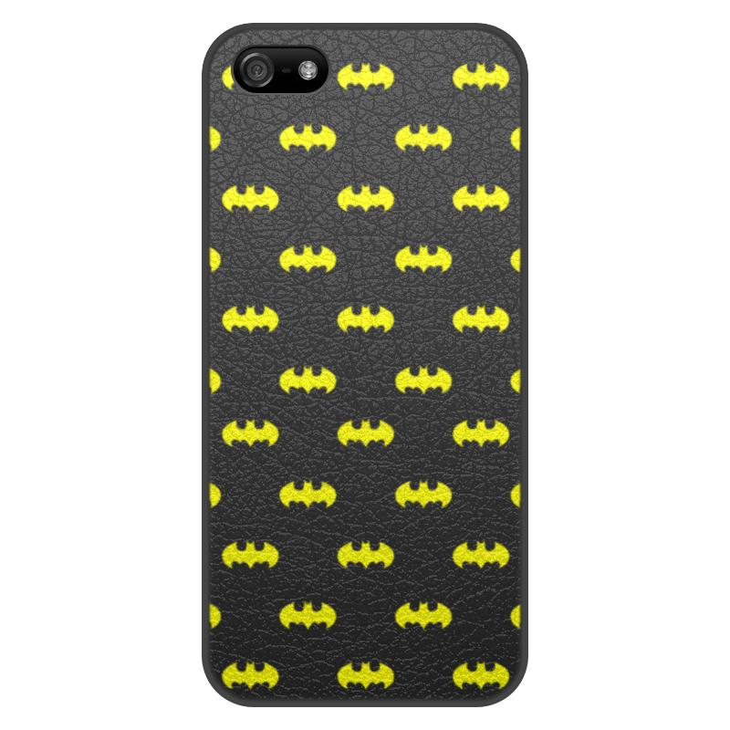 Чехол для iPhone 5/5S, объёмная печать Printio Бэтмен чехол для iphone 5 5s объёмная печать printio бэтмен batman