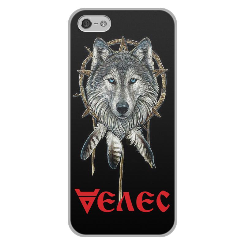 лучшая цена Чехол для iPhone 5/5S, объёмная печать Printio Велес. славянские боги