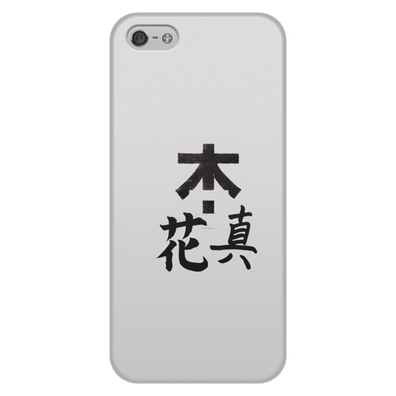 Чехол для iPhone 5/5S, объёмная печать Printio Япония. минимализм чехол для iphone 4 глянцевый с полной запечаткой printio япония минимализм