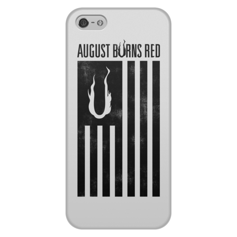 Чехол для iPhone 5/5S, объёмная печать Printio August burns red umi touch android 6 0 smartphone touch id 5 5 inch phones