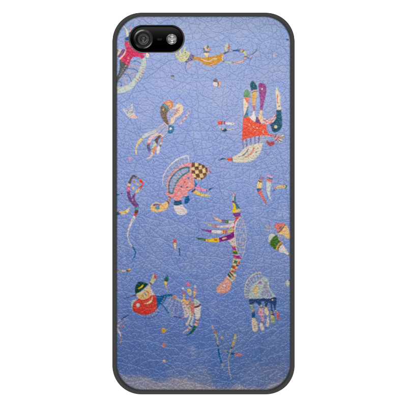 Чехол для iPhone 5/5S, объёмная печать Printio Синее небо (василий кандинский)