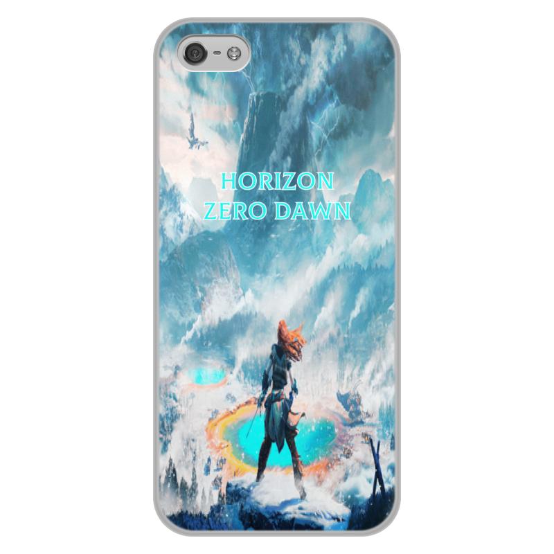 Чехол для iPhone 5/5S, объёмная печать Printio Horizon zero dawn promate neat i5 чехол для iphone 5 5s maroon