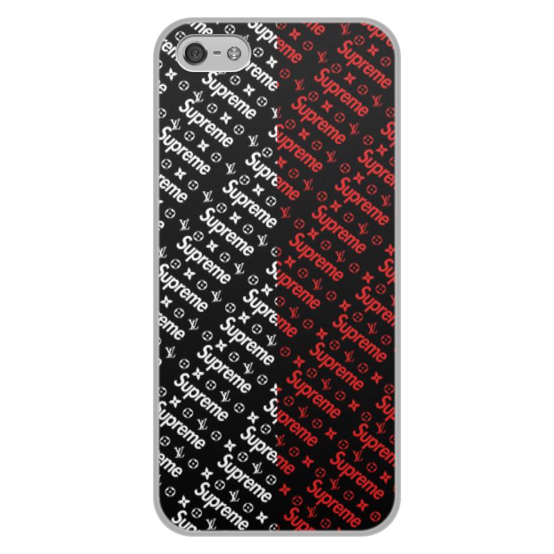 Чехол для iPhone 5/5S, объёмная печать Printio Supreme чехол для iphone 5 printio с именем ирина