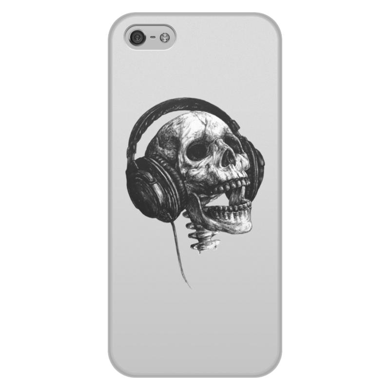 Чехол для iPhone 5/5S, объёмная печать Printio Музыка навсегда