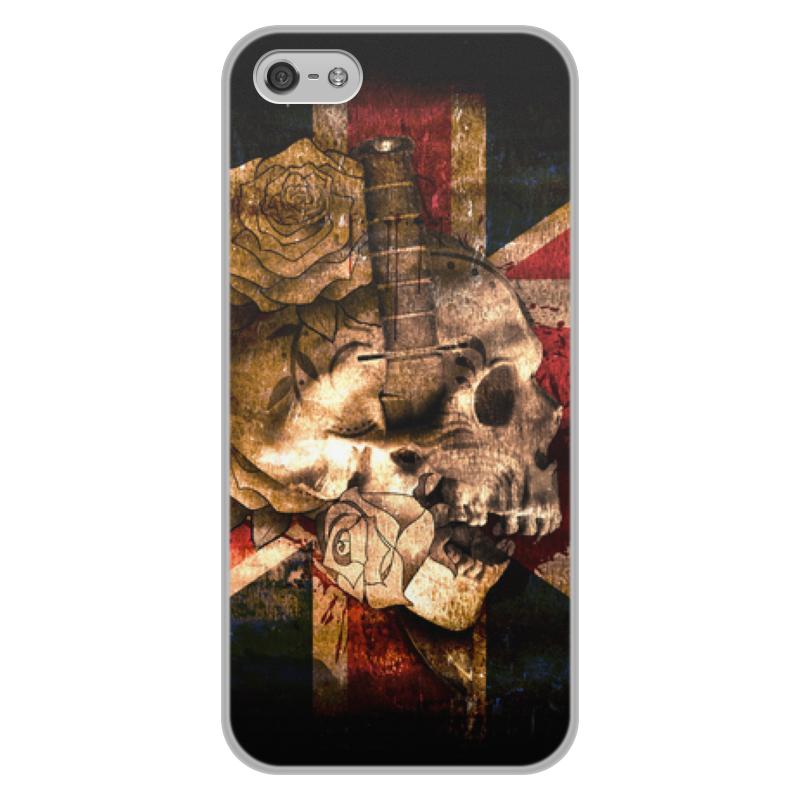 Фото - Printio Череп конфедерата чехол для iphone 5 глянцевый с полной запечаткой printio deadpool vs punisher